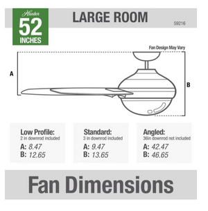 "Load image into Gallery viewer, 52"" Dempsey Fan - BN"
