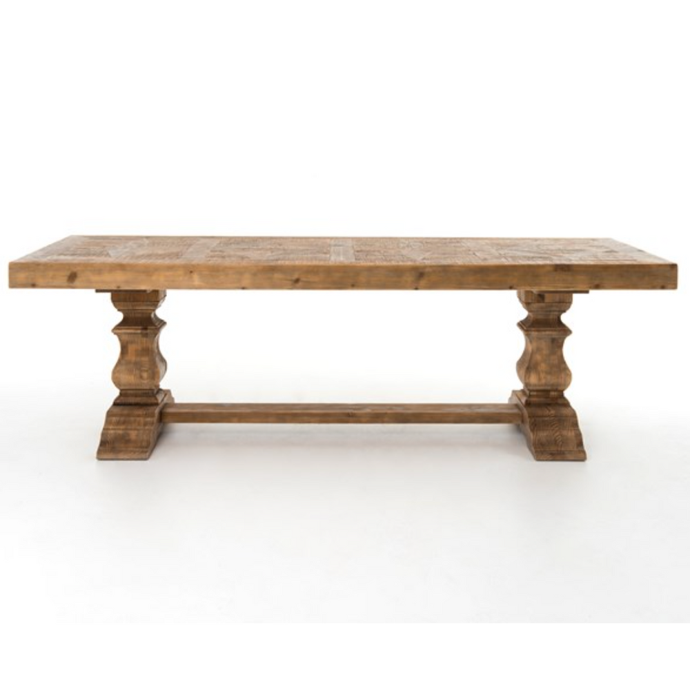 "98"" Castle Dining Table - Pine"