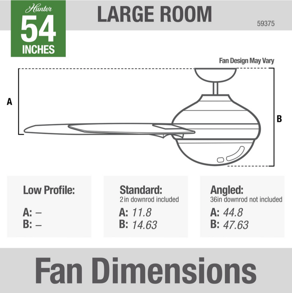 "Load image into Gallery viewer, 54"" LED Symphony Fan - White"