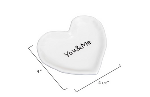 Load image into Gallery viewer, Ceramic Heart Dish - You&Me