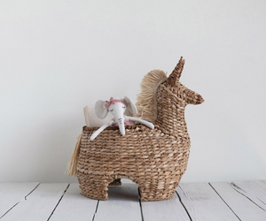 Load image into Gallery viewer, HandWoven Bankuan Llama Basket