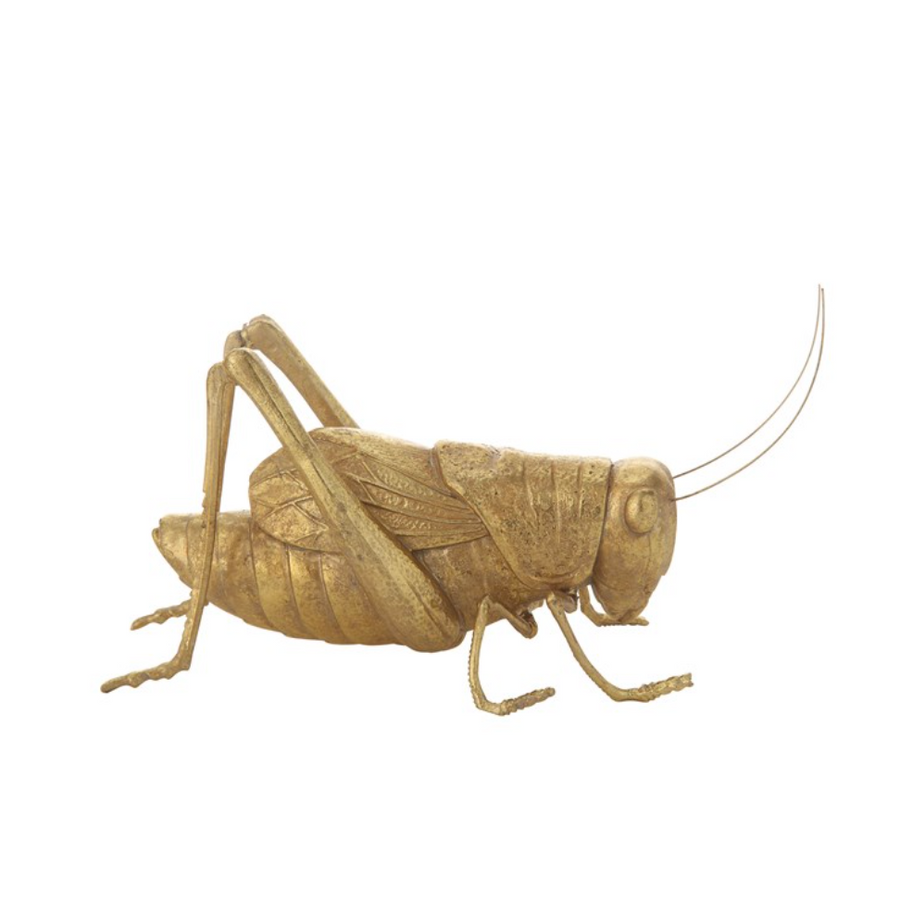 Resin Cricket - Gold