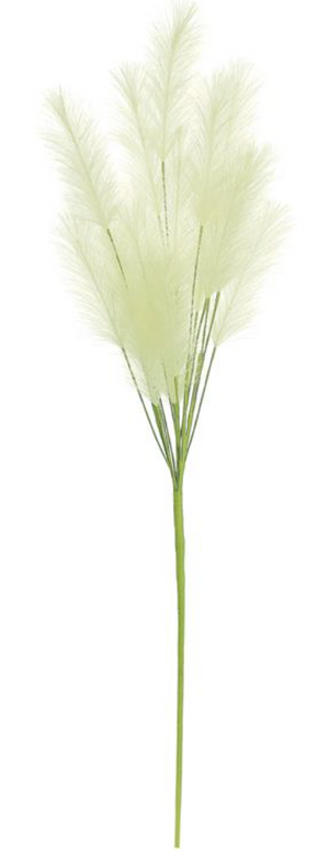 "Load image into Gallery viewer, 37"" Pampas Grass Cluster Spray"