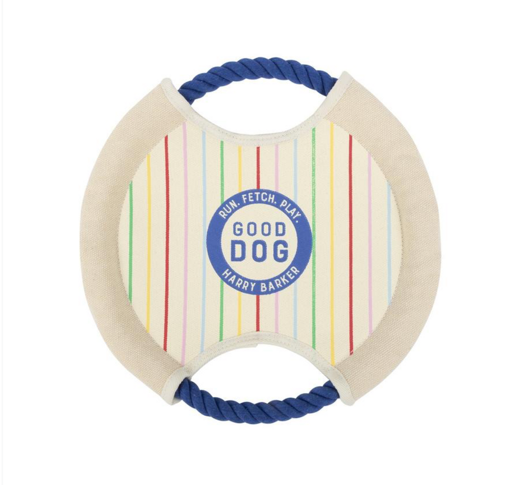 Good Dog Canvas FrisbeeToy