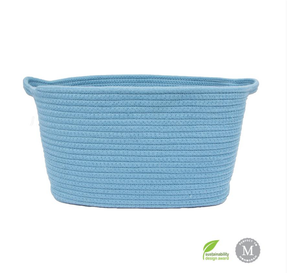 Cotton Rope Toy Storage - Multiple Colors