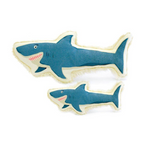 Shark Canvas Dog Toy - Multiple Sizes