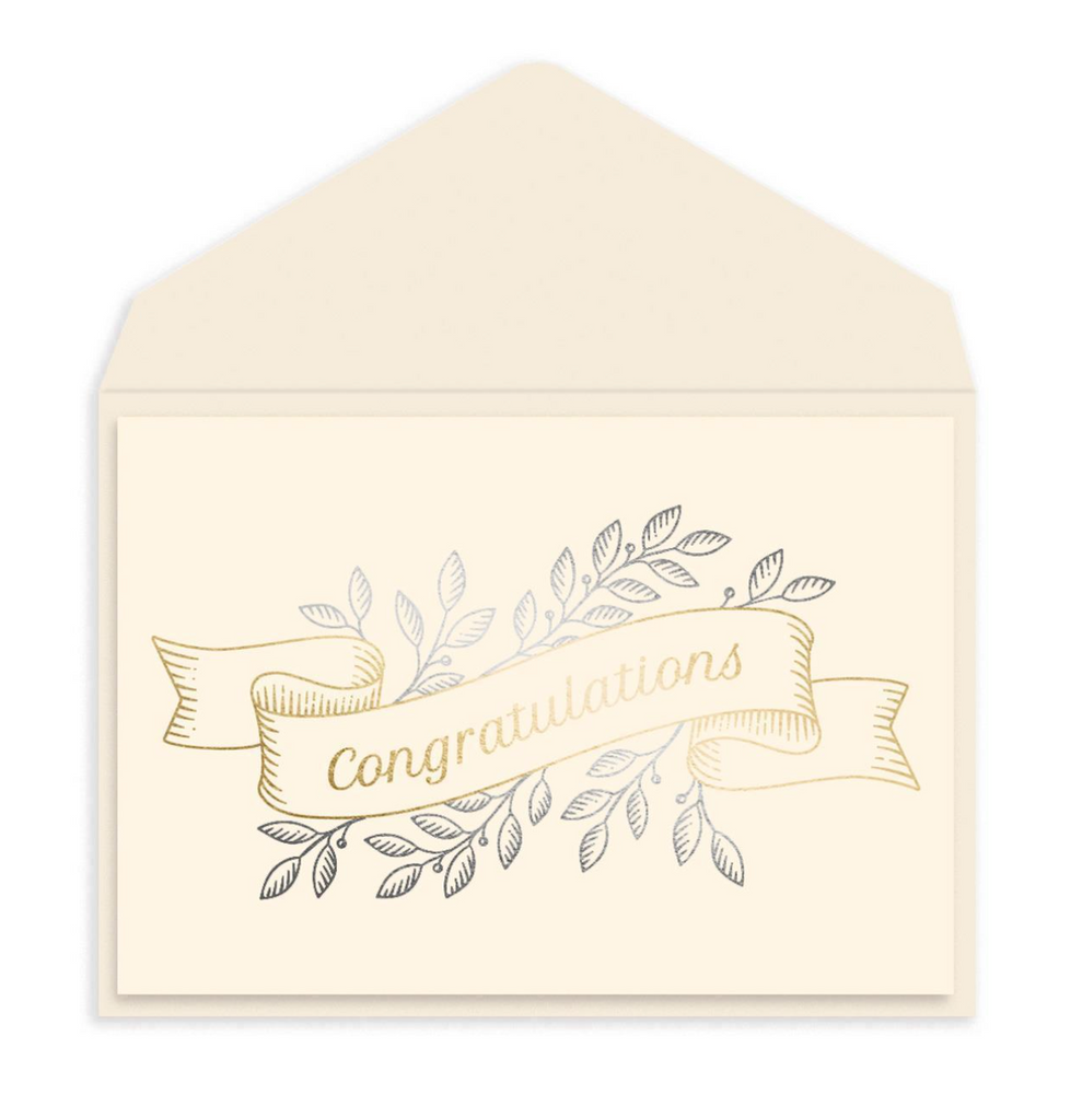 Congratulations Banner Card