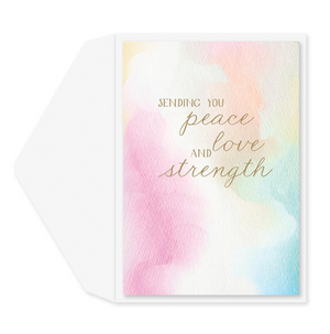 Load image into Gallery viewer, Peace & Serene Sympathy Card