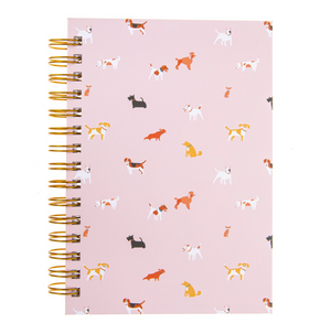 Dog Pattern Hard Cover Journal