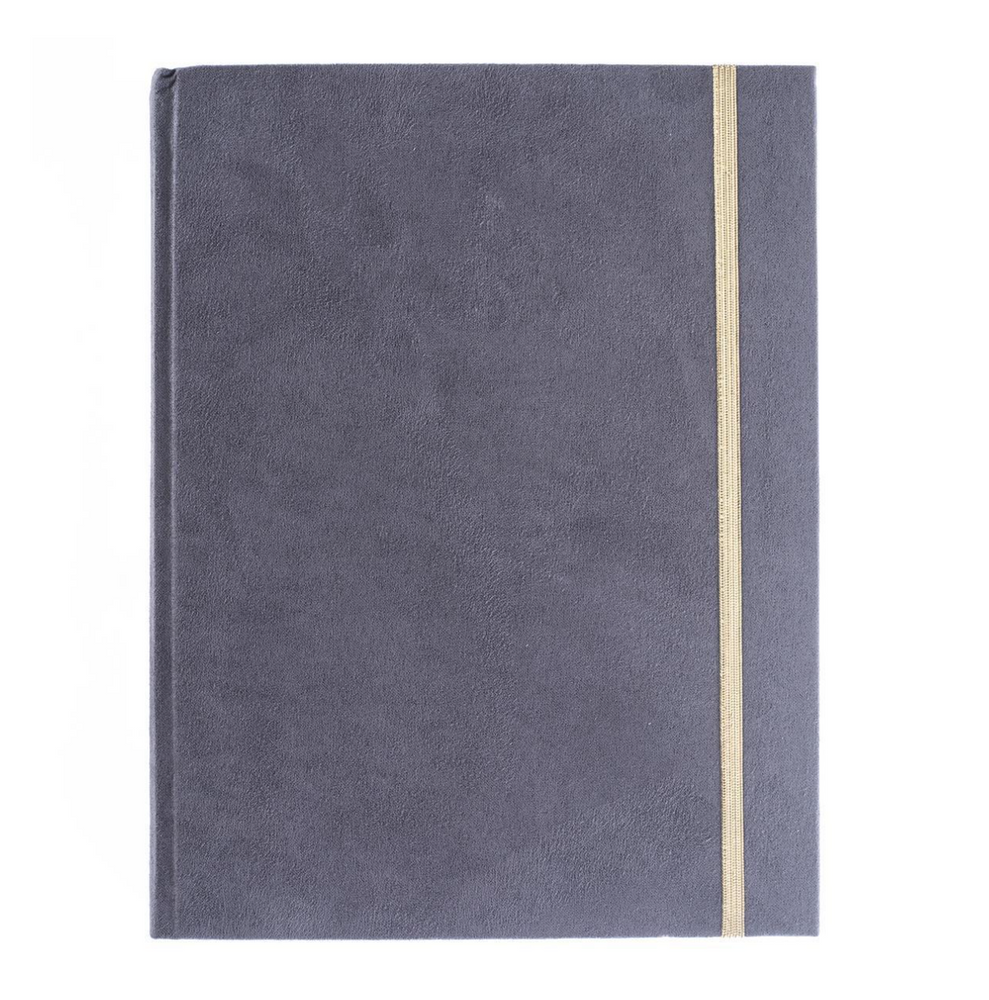 Dark Grey Hardbound Journal
