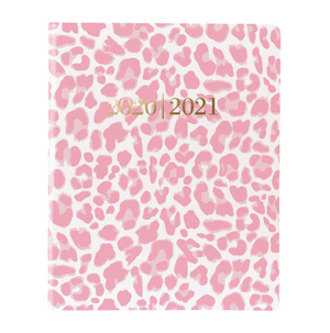 Load image into Gallery viewer, Pink Leopard 14 Month Planner