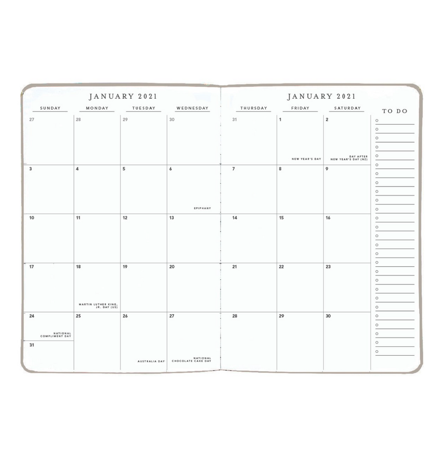 2021 Large 18M Soft Planner