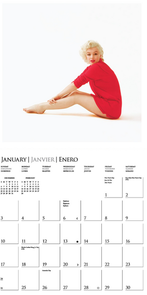 Load image into Gallery viewer, Marilyn Monroe Wall Calendar
