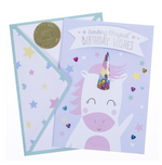 Unicorn Handmade Card