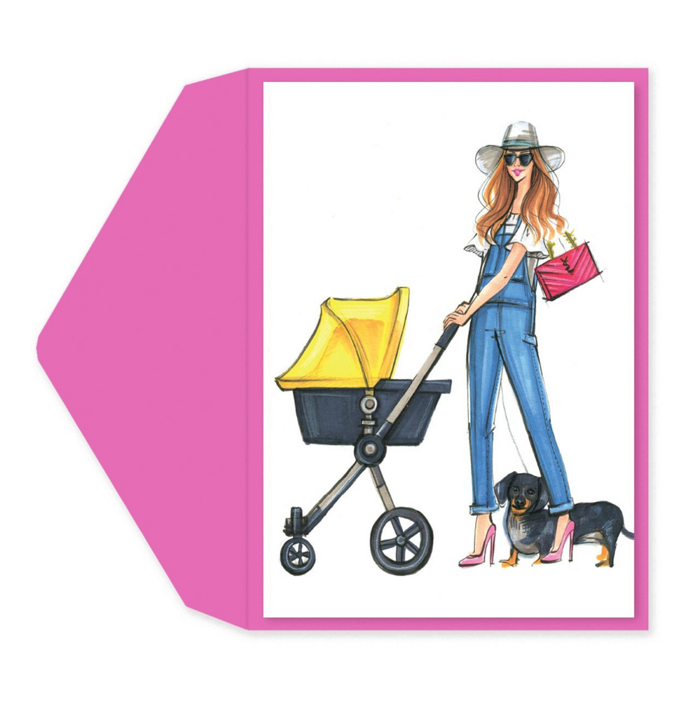 Load image into Gallery viewer, Diva Mom Baby Card