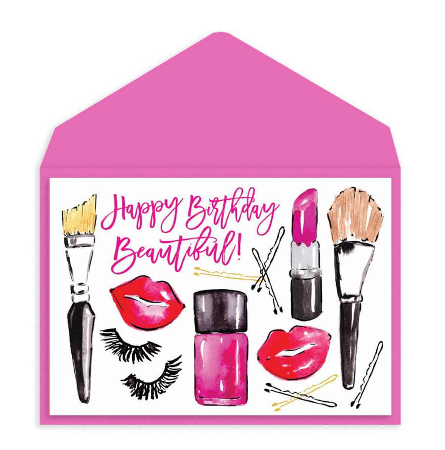 All Dolled Up Birthday Card
