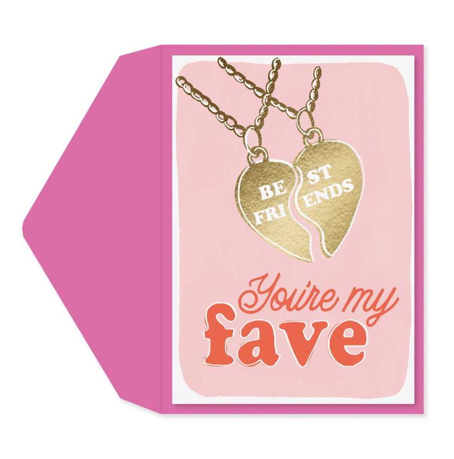 Friend's Necklace Card