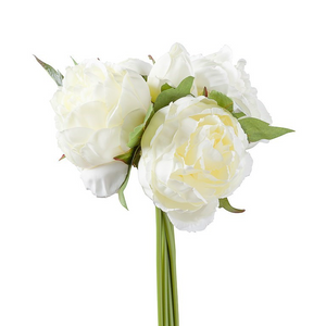 Load image into Gallery viewer, Blushing Peony Bouquet - Creme