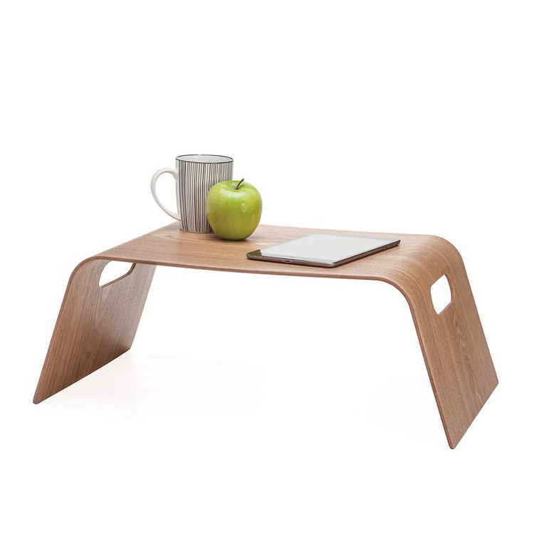 Kento Curve Wooden Tray -Light