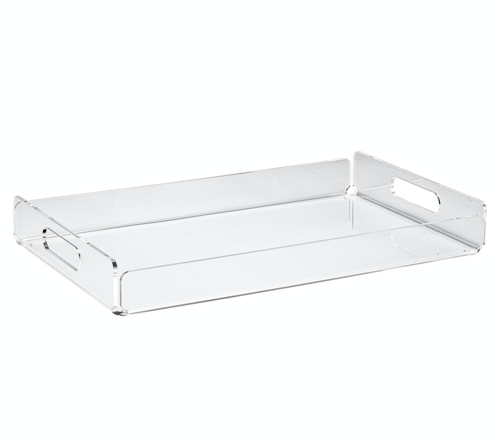 Lucite Acrylic Rectangle Tray