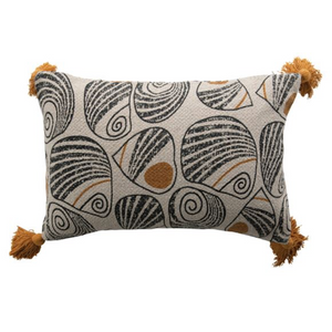 Load image into Gallery viewer, Lumbar Pillow w/ Tassels - B&M