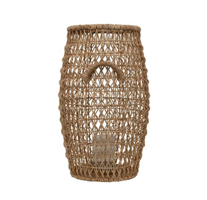 Load image into Gallery viewer, Water Hyacinth Lantern 17""