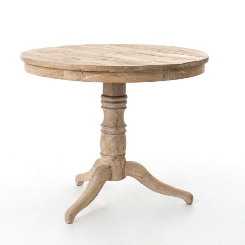 Round Occassional Table - Wh
