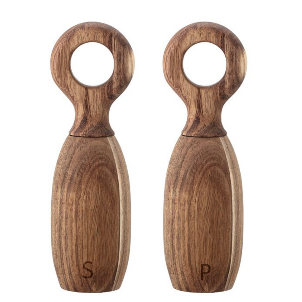 Load image into Gallery viewer, Acacia Wood Salt & Pepper Mill