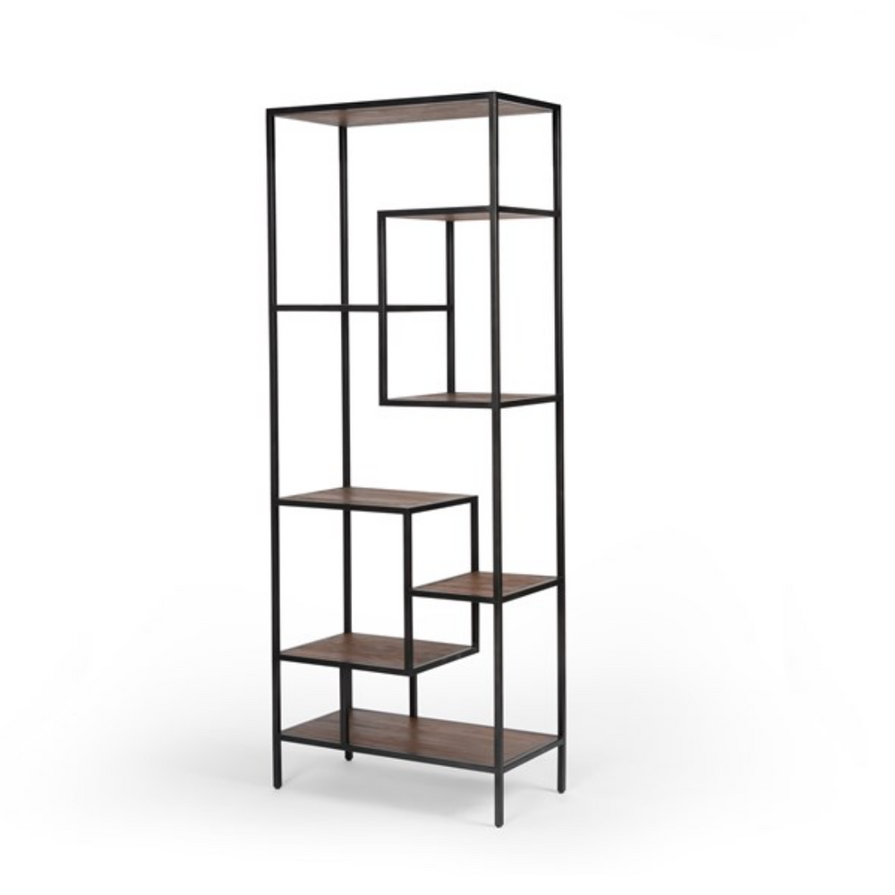 "Load image into Gallery viewer, 83"" Helena Bookshelf"