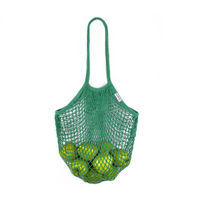 Load image into Gallery viewer, Karma Reusable Mesh Tote - Grn