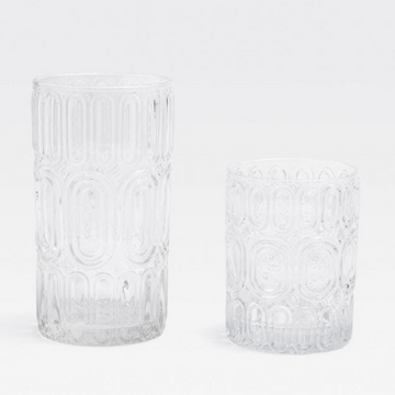 Aaron Tumbler Glass - Clear