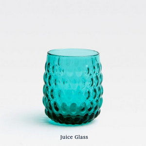 Claire Juice Glass - Teal
