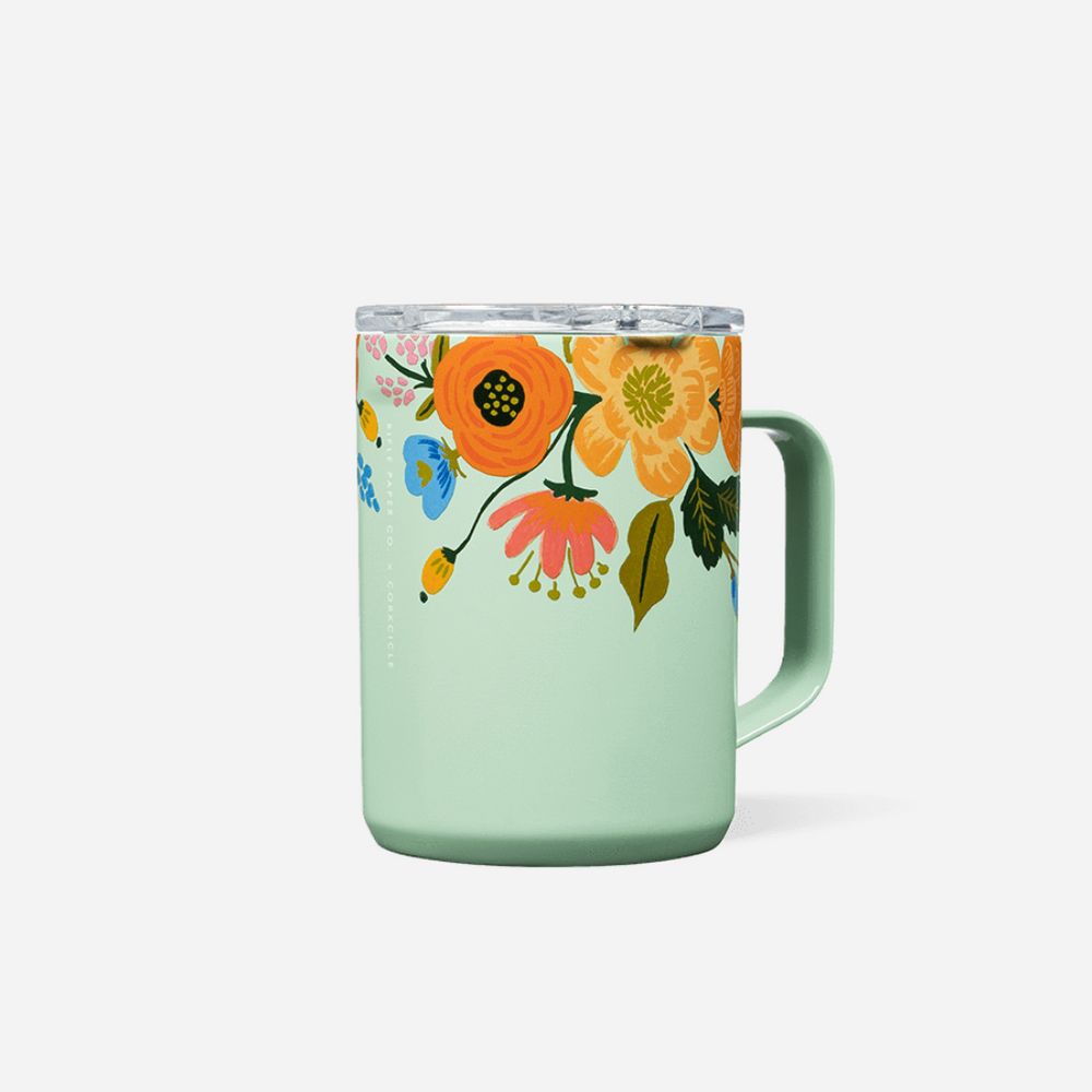 Load image into Gallery viewer, 16oz Mug - Lively Mint Floral