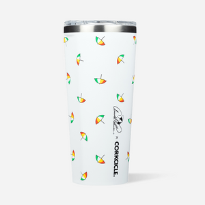 Load image into Gallery viewer, 24oz Tumbler - Tossed Umbrella
