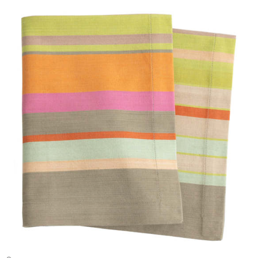 Load image into Gallery viewer, Stone Soup Napkin - Stripe
