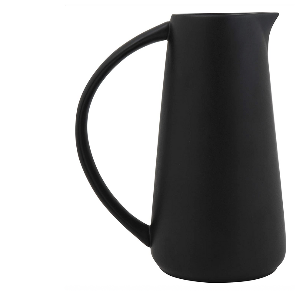 Load image into Gallery viewer, 48oz Stoneware Pitcher - Black