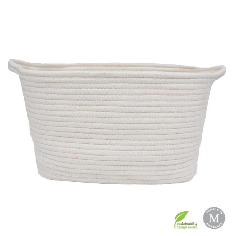 Cotton Rope Dog Storage Bin- Natural