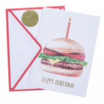 Hamburger Handmade Card