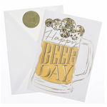 Happy Beer Day Birthday Card