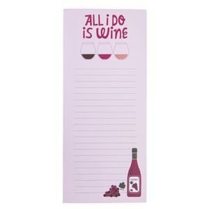 Wine Magnetic Notepad