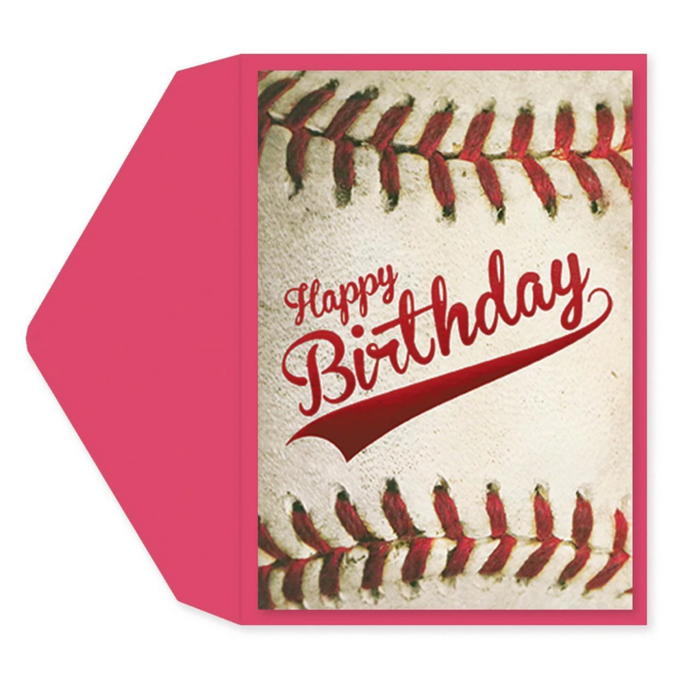 Homerun Birthday Card