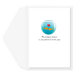 Fishy Kisses Anniversary Card