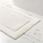 Classic Ivory Bath Rug - Two Sizes