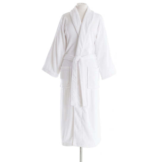 Sheepy Fleece White Robe