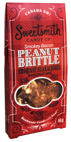 Smokey Bacon Peanut Brittle