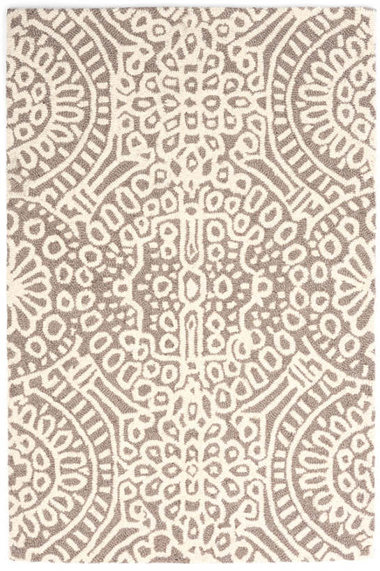Temple Taupe Wool Rug - Multiple Sizes