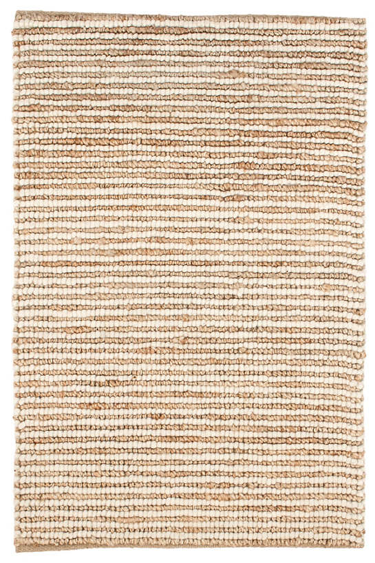 Twiggy Natural Woven Wool/Jute Rug - 2x3