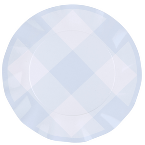 Load image into Gallery viewer, Wavy Dinner Plate - Periwinkle