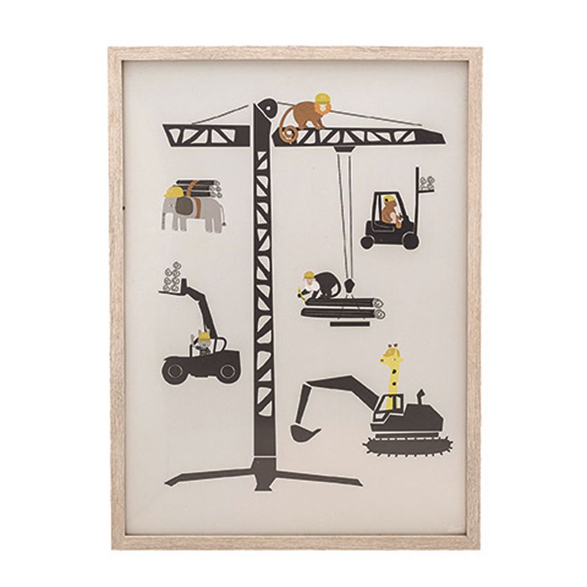 Framed Construction Vehicles