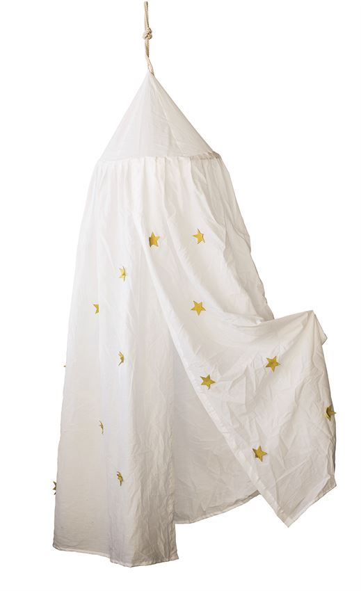 Cotton Canopy w/ Appliqued Stars